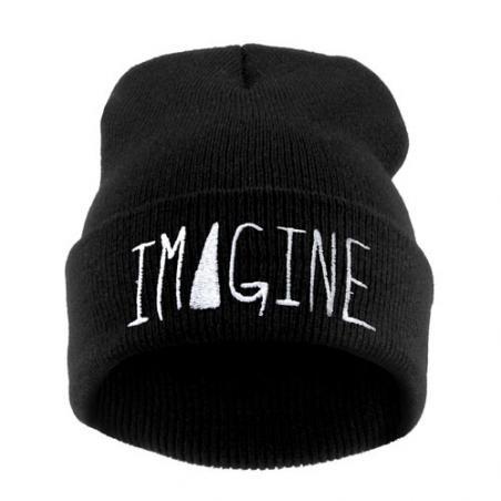 Czapka HAFT IMAGINE czarna