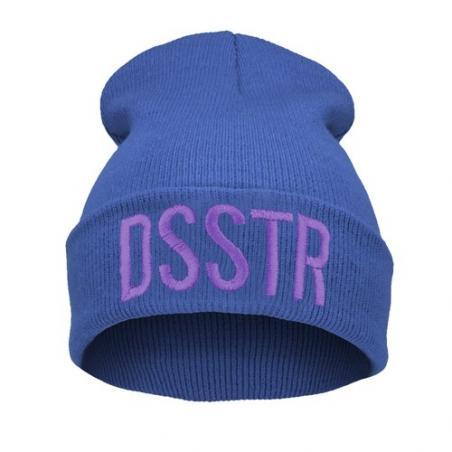 czapka czapka krasnal haft DSSTR /c.niebieska/