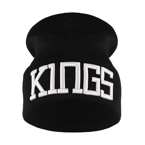 krasnal haft 3D KINGS /czarna+biały/