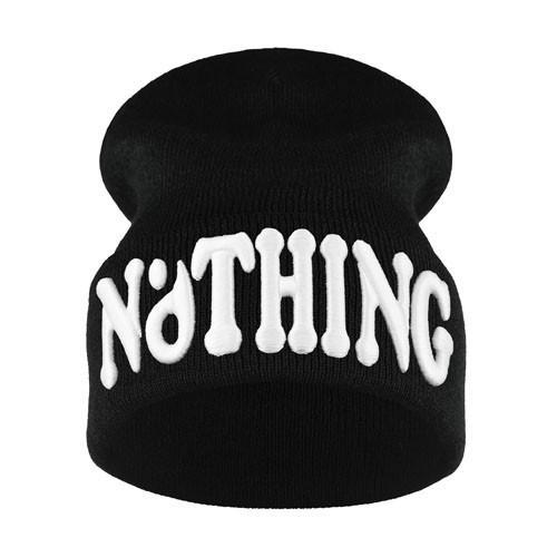 krasnal haft 3D NOTHING /czarna+biały/