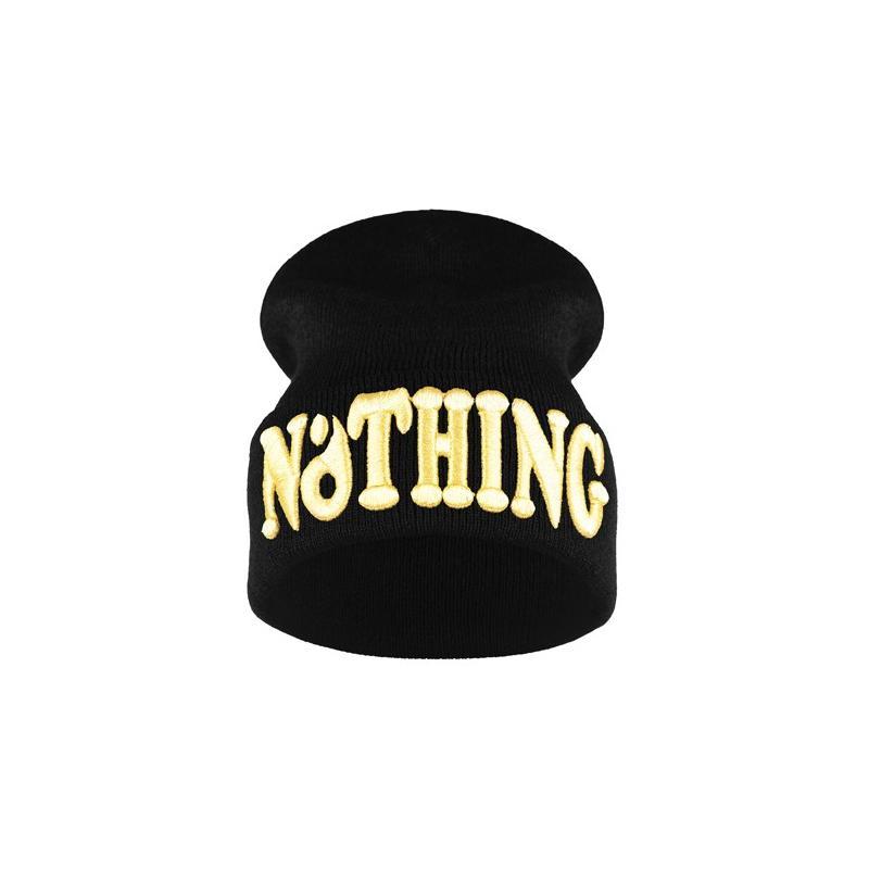 krasnal haft 3D NOTHING /czarna+złoty/