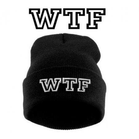 krasnal haft WTF /czarna/