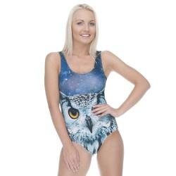 Strój kąpielowy druk GALAXY OWL