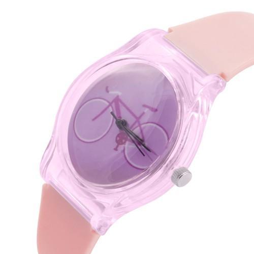 zegarek bike pink /różowy/