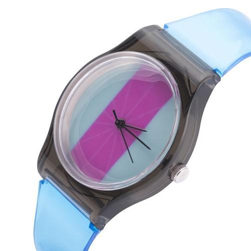 zegarek color /turkusowy/