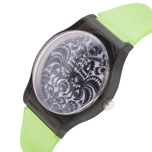 zegarek folk /n. zielony/