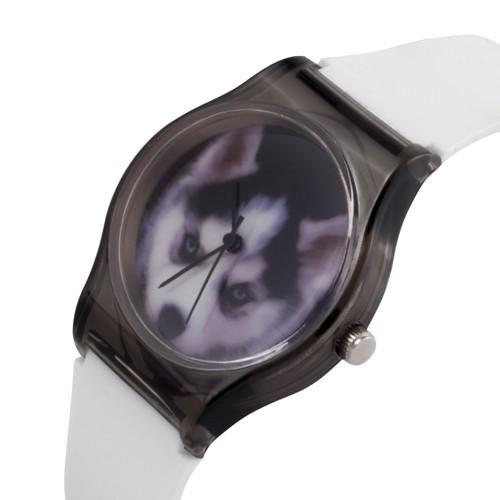 zegarek husky /biały/