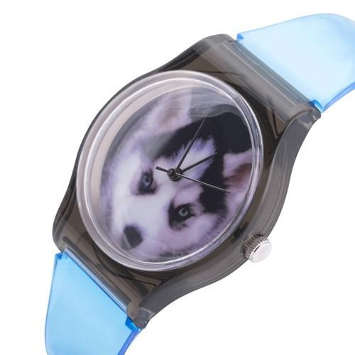 zegarek husky /turkusowy/