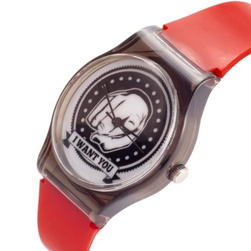 zegarek i want you /czerwony/