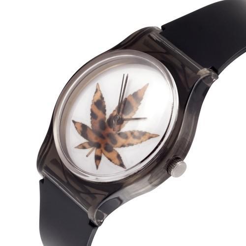 zegarek marijuana /czarny/