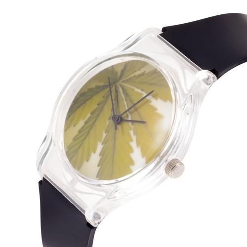 zegarek marijuana 2 /czarny/