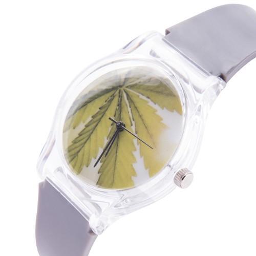 zegarek marijuana 2 /szary/