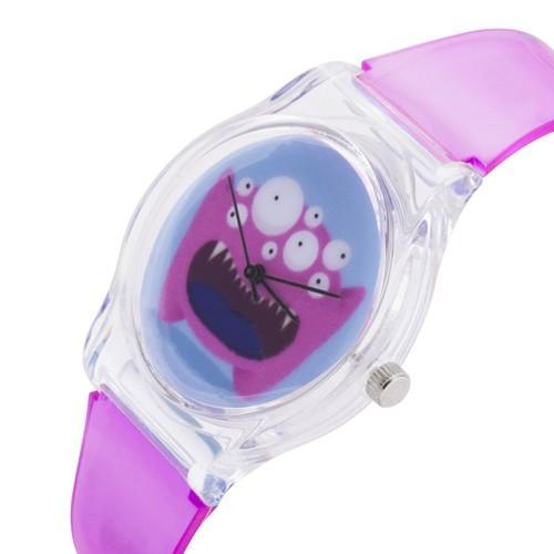 zegarek monster pink /fuksja/