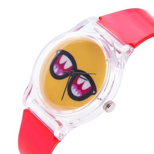zegarek sunglasses /czerwony/