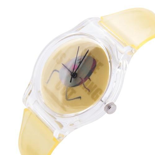 zegarek time run /żółty/