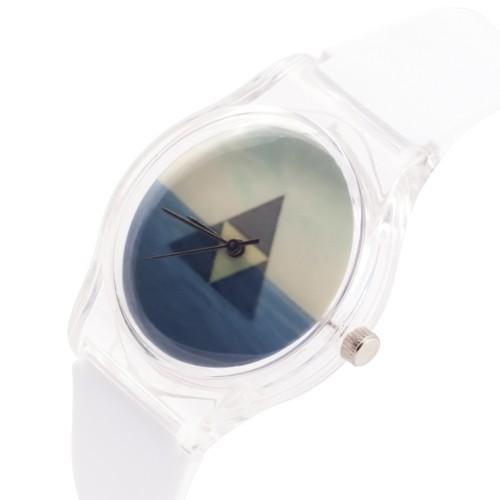 zegarek triangle /biały/