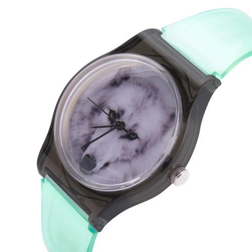 zegarek white wolf /miętowy/
