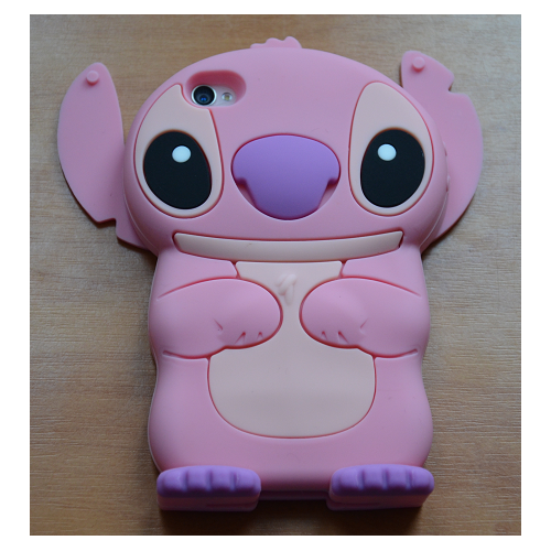 Etui iPhone 4G/4S STICH różowy