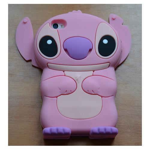 Etui iPhone 4G/4S STICH różowy