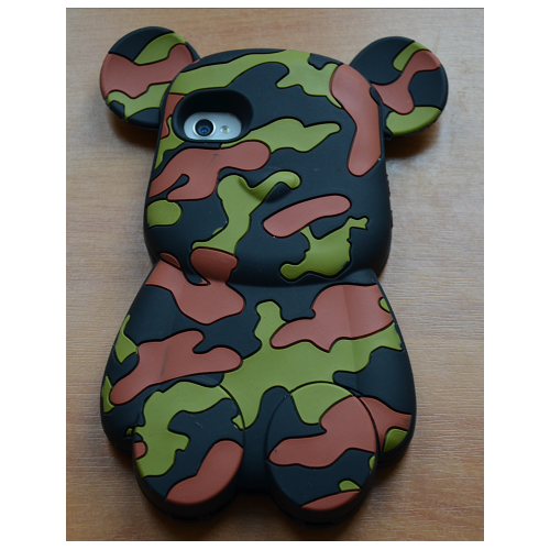Etui iPhone 4G/4S BEAR moro