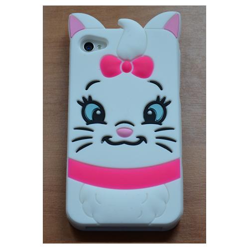 Etui iPhone 4G/4S KOTKA biała