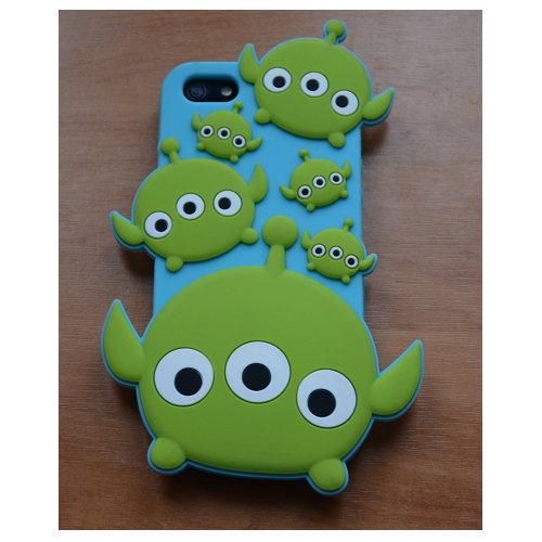 Etui iPhone 5G/5S ALIEN