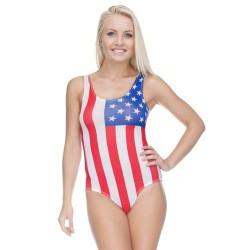 Strój kąpielowy druk USA