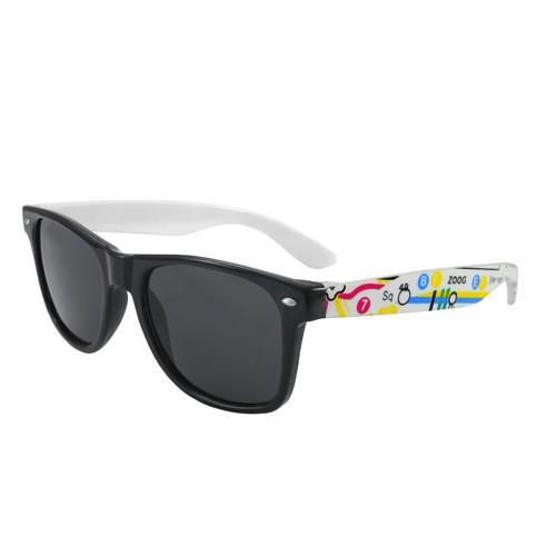okulary przeciwsłoneczne wayfarer /mapa/