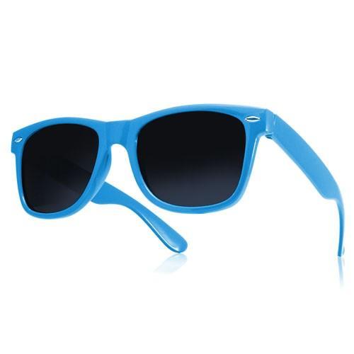 okulary przeciwsłoneczne wayfarer /niebieskie/