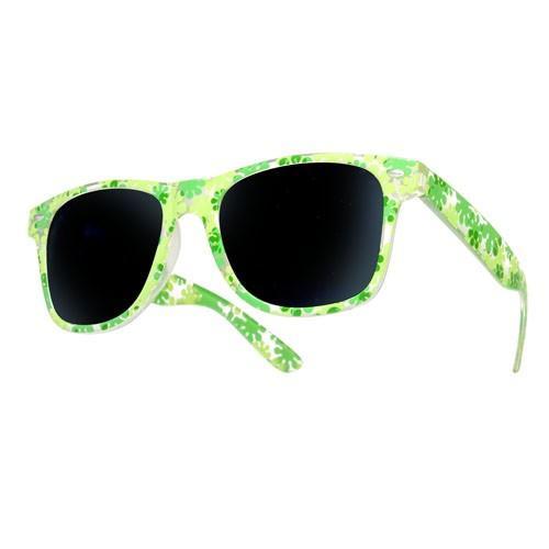 okulary przeciwsłoneczne flower green