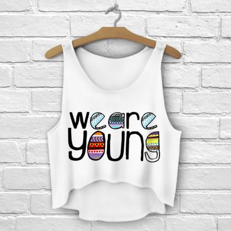 TOP summer druk we are young
