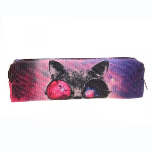PIÓRNIK druk GALAXY SUNGLASSES CAT