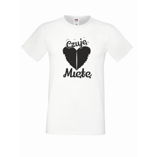 T-shirt oversize CZUJĘ MIĘTĘ