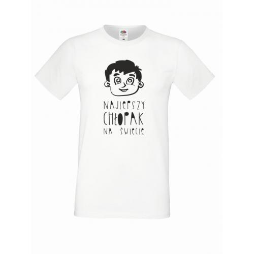 T-shirt oversize NAJLEPSZY CHŁOPAK