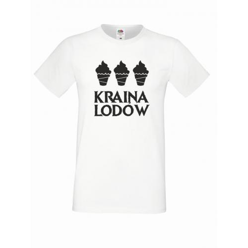 T-shirt oversize KRAINA LODÓW