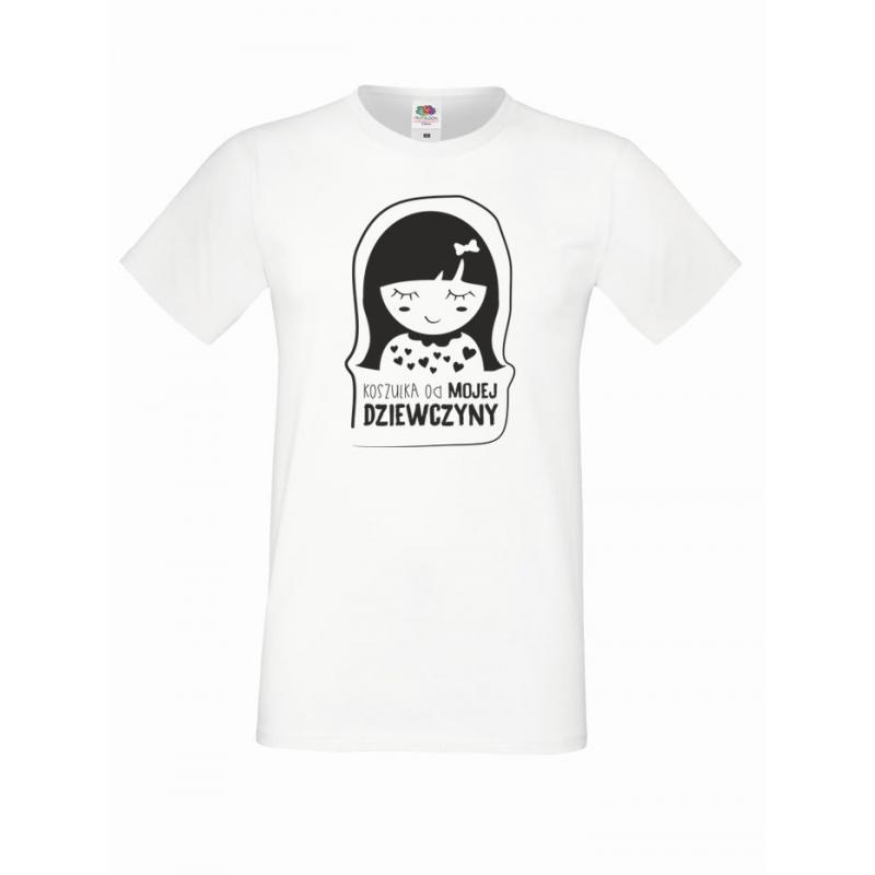 T-shirt oversize DZIEWCZYNY