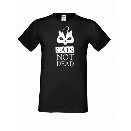 T-shirt oversize CATS NOT 2