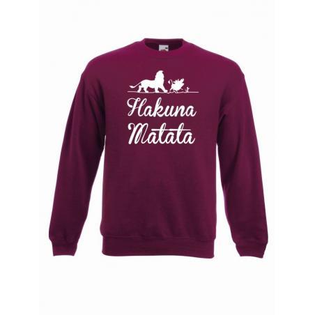 bluza oversize HAKUNA MATATA ANIMALS 3
