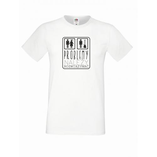 T-shirt oversize PROBLEMY