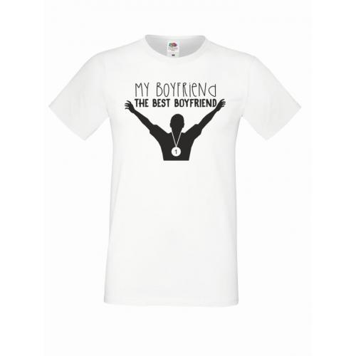 T-shirt oversize BEST BOYFRIEND