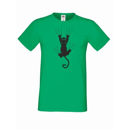 T-shirt oversize ANGRY CAT