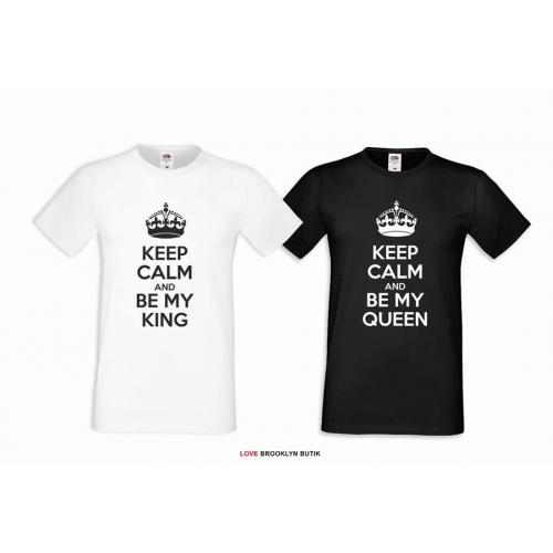 T-shirt DLA PAR 2 SZT BE MY KING & BE MY QUEEN