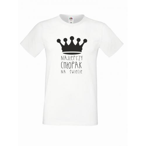 T-shirt oversize NAJLEPSZY CHŁOPAK 2