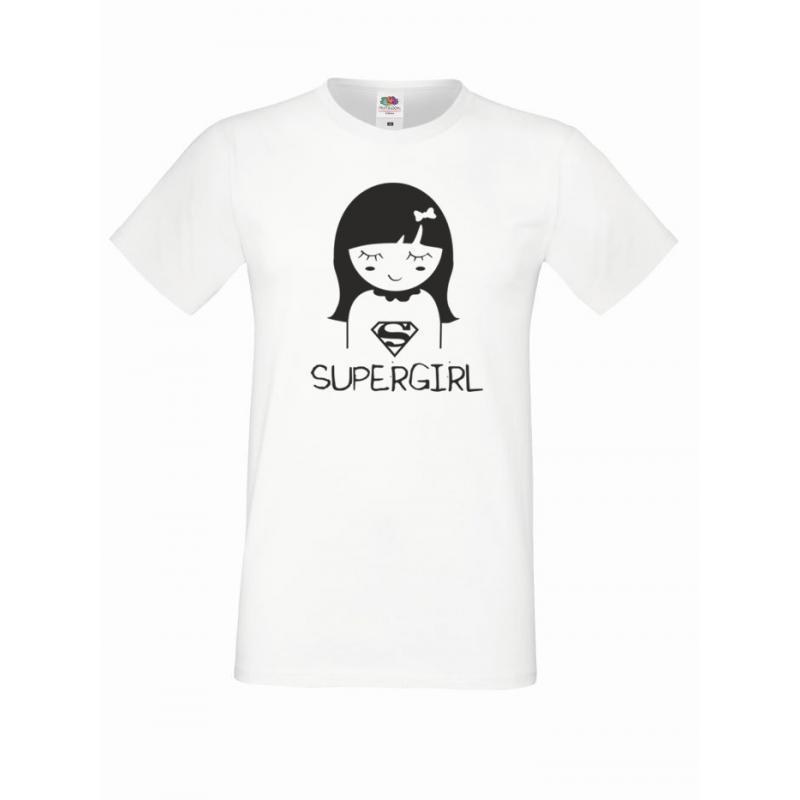T-shirt oversize SUPERGIRL