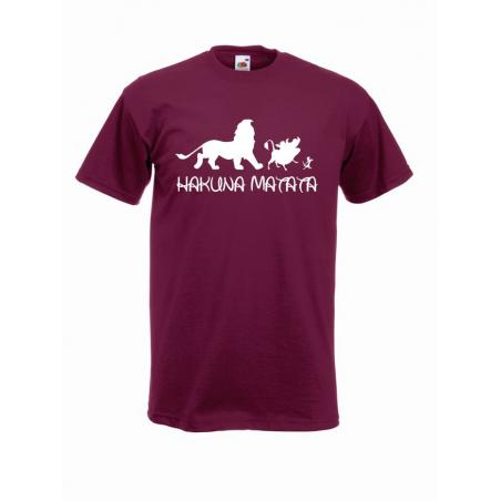 T-shirt oversize HAKUNA MATATA ANIMAL