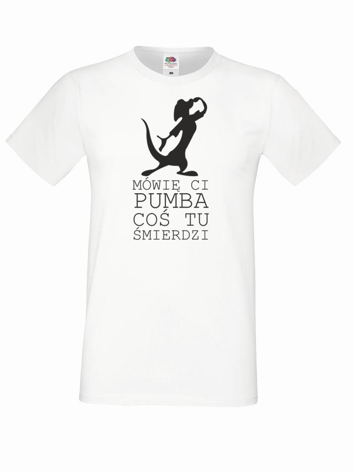 T-shirt oversize MÓWIĘ CI S biały