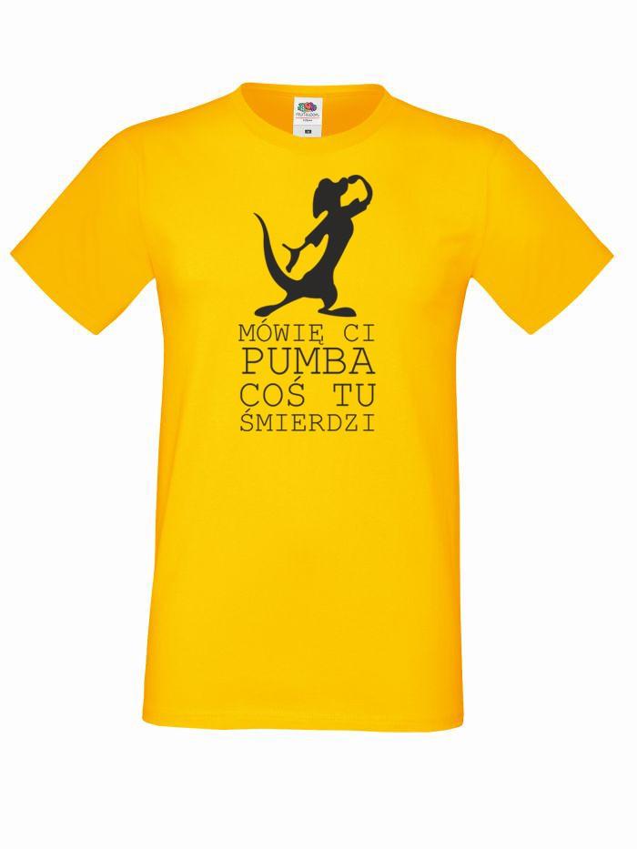 T-shirt oversize MÓWIĘ CI XL żółty