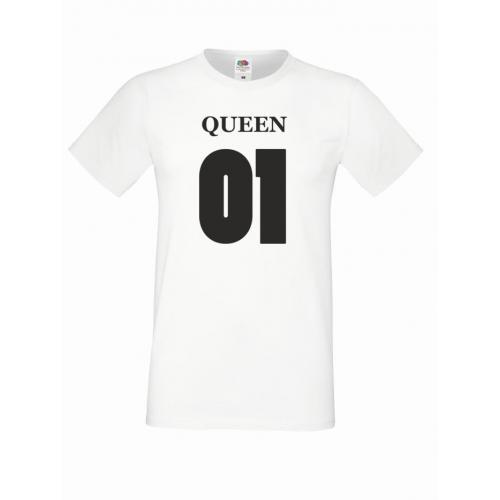 T-shirt oversize QUEEN 01