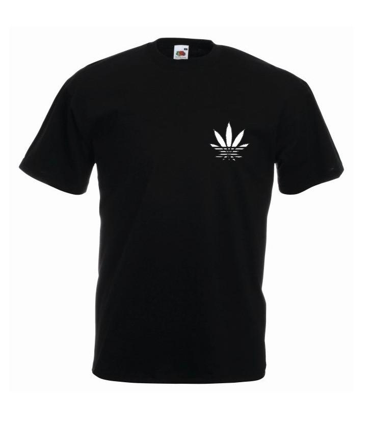T-shirt oversize ADDICTED MINI L czarny