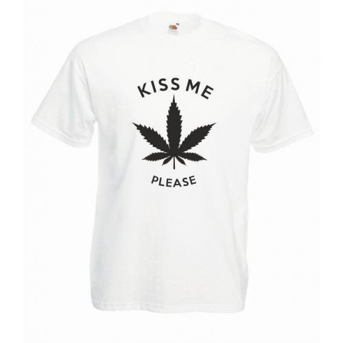 T-shirt oversize KISS ME